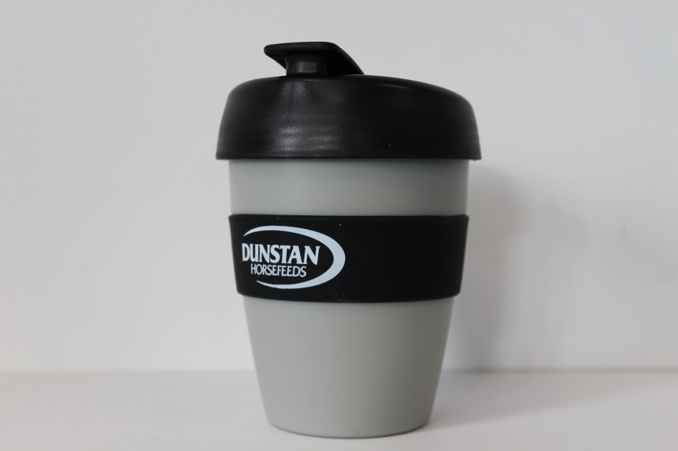 Reusable Coffee Mug Dunstan HQ (Grey/Black)